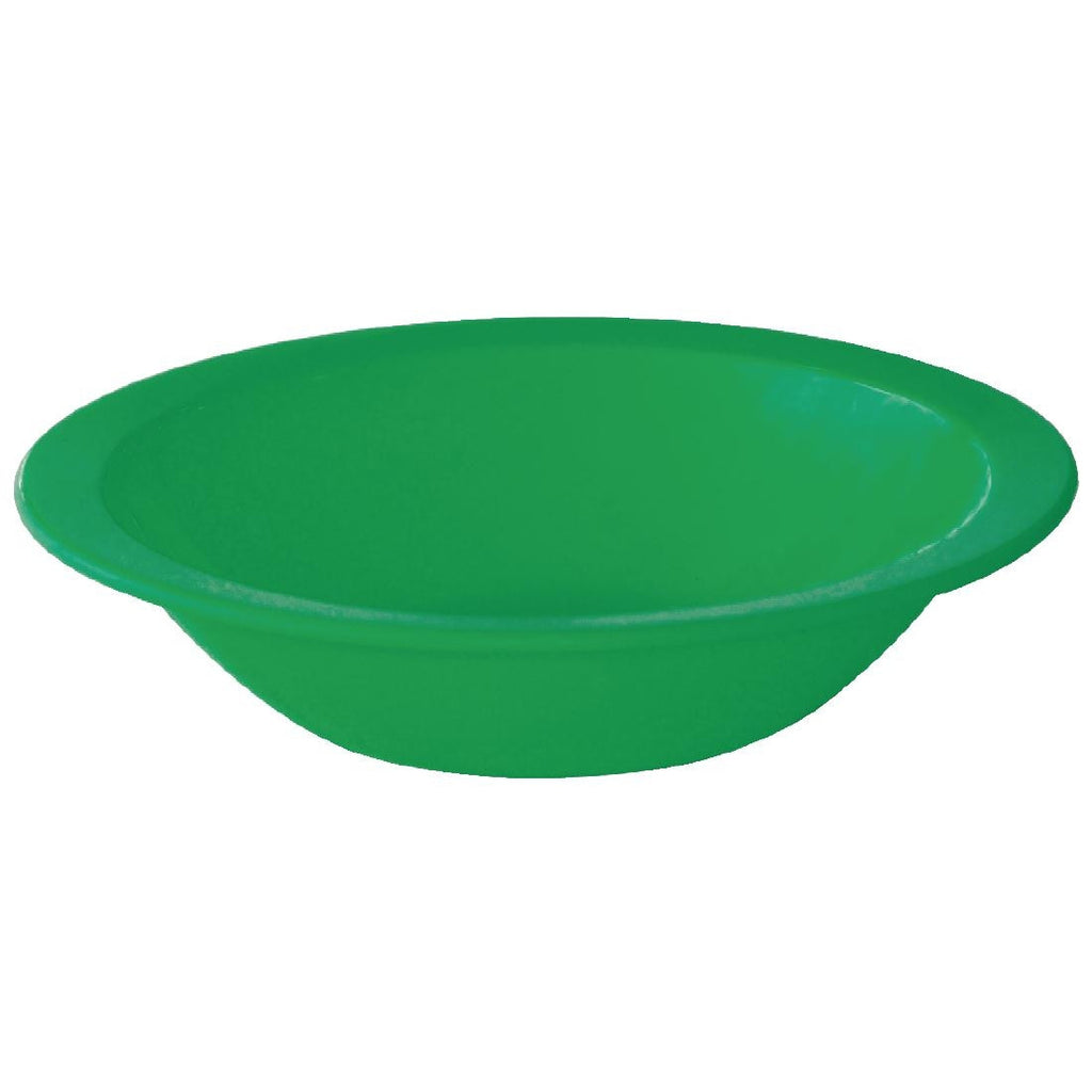 Kristallon Polycarbonate Bowls Green 172mm (Pack of 12)
