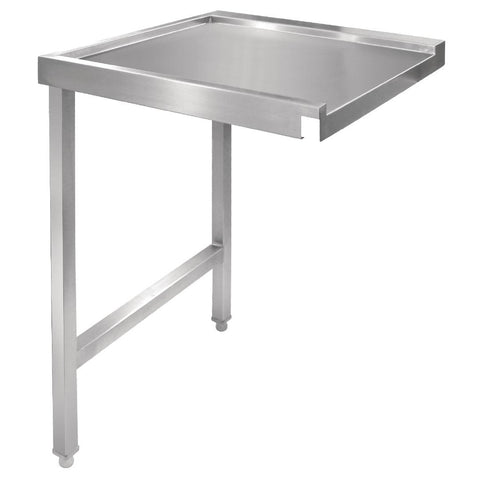 Vogue Pass Through Dishwash Table L 1100mm