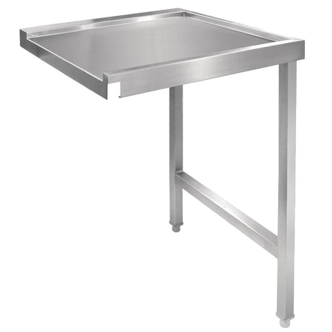 Vogue Pass Through Dishwash Table R 1100mm
