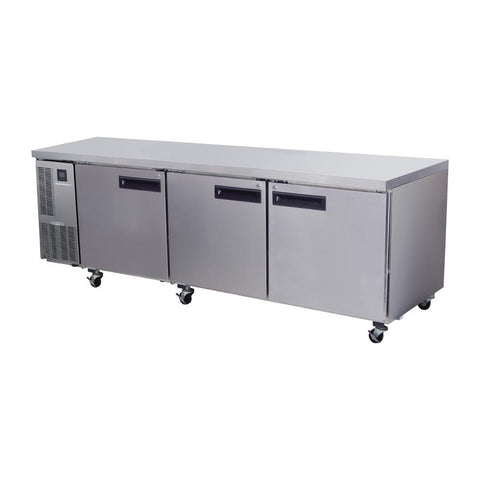 Skope Pegasus 3 Door Gastronorm Counter Fridge PG800