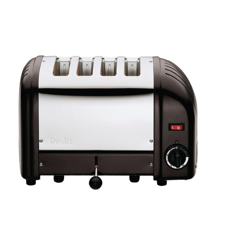 Dualit Bread Toaster 4 Slice Matt Black