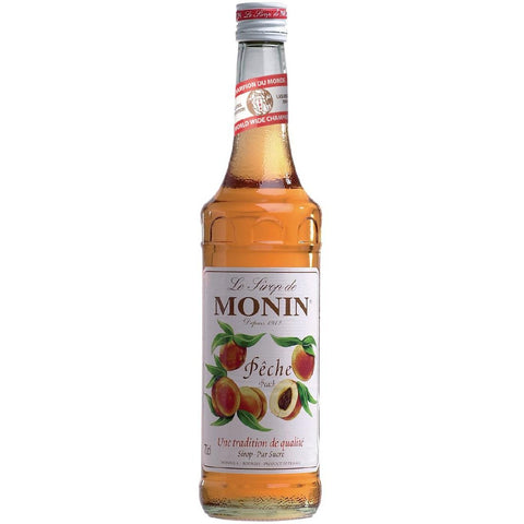 Monin Peach Syrup 700ml