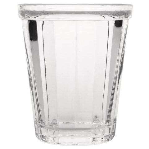 Olympia Cabot Panelled Glass Tumbler 260ml (Pack of 6)