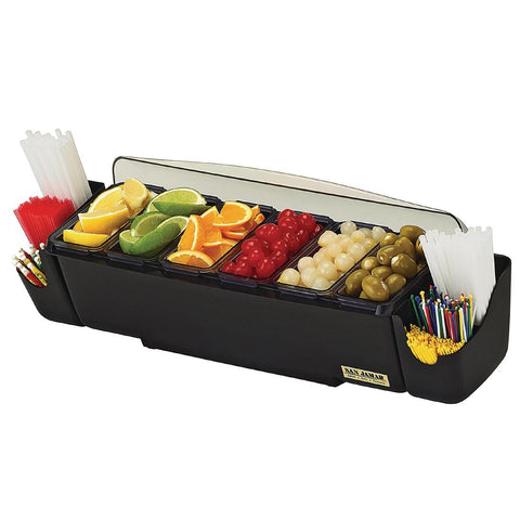 San Jamar Dome Garnish Centre 5 Tray