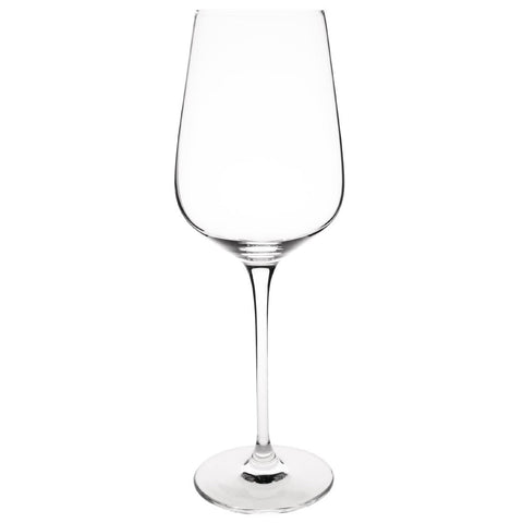 Olympia Claro One Piece Crystal Wine Glass 420ml (Pack of 6)
