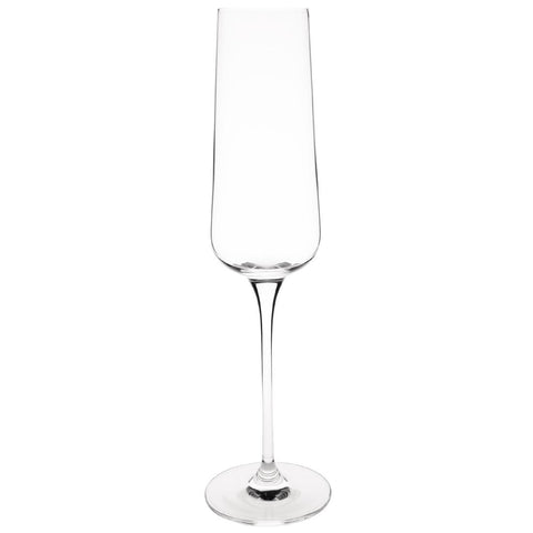 Olympia Claro One Piece Angular Champagne Flute 260ml (Pack of 6)