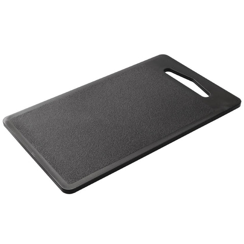 Hygiplas Bar Chopping Board Black 255mm