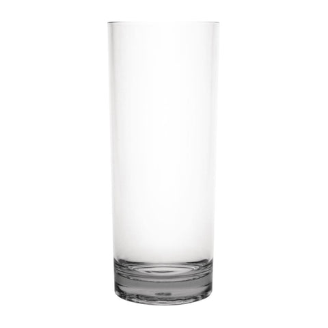 Kristallon Polycarbonate Hi Ball Glasses Clear 360ml (Pack of 6)