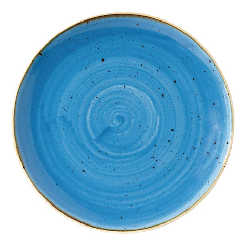 Churchill Stonecast Round Coupe Plate Cornflower Blue 217mm (Pack of 12)