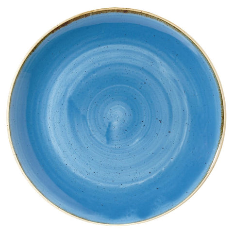 Churchill Stonecast Round Coupe Bowl Cornflower Blue 311mm (Pack of 6)