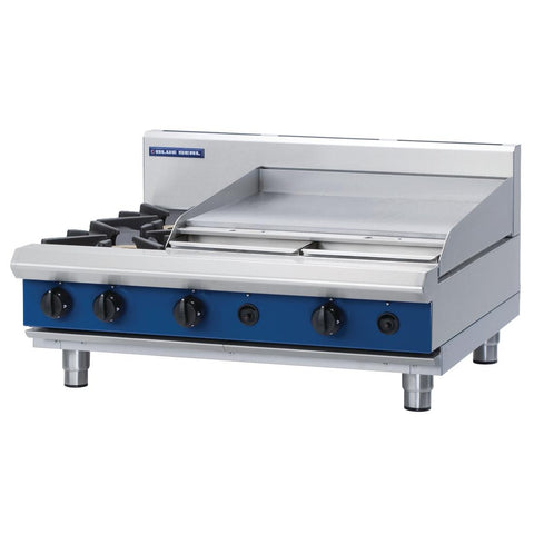 Blue Seal by Moffat 2 Burner Propane Gas Cooktop G516B-B
