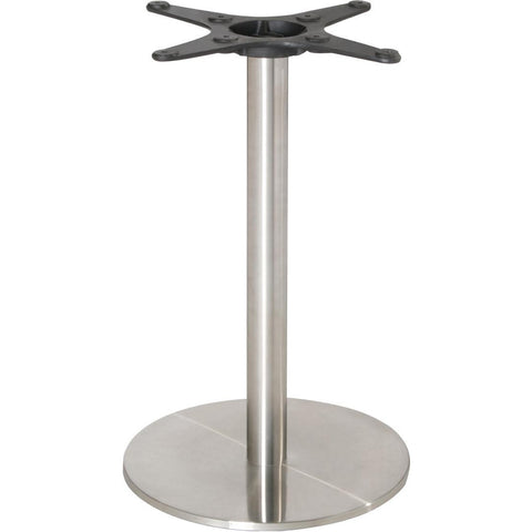 Bolero Stainless Steel Round Table Base