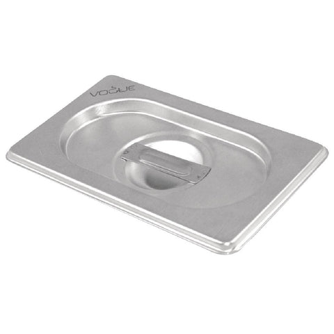 Vogue Stainless Steel 1/6 Gastronorm Pan Lid