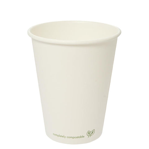 Vegware Compostable Single Wall Hot Cup 350ml (Pack of 1000)