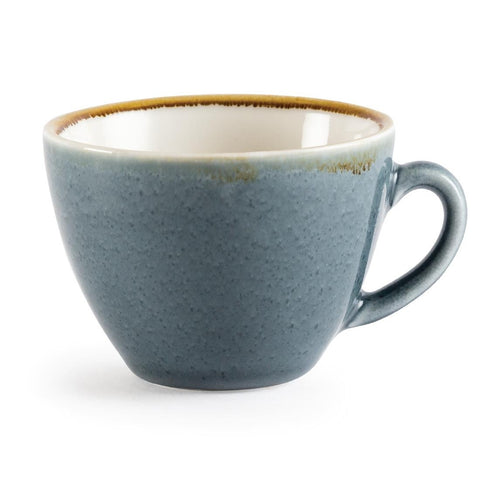 Olympia Kiln Cappuccino Cup Ocean 230ml (Pack of 6)