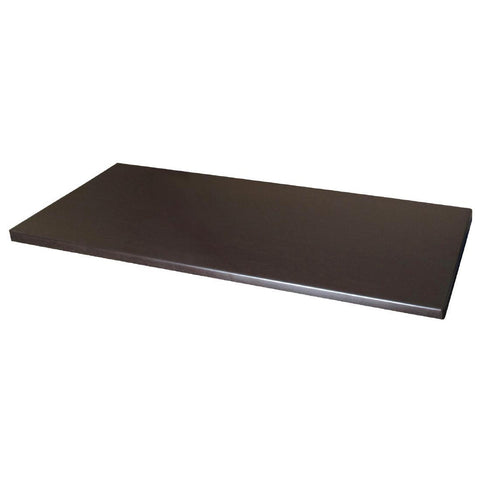 Werzalit Wenge Rectangular Table Top