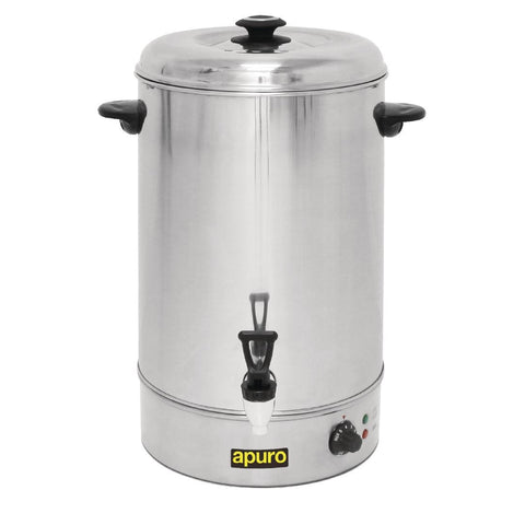 Apuro Manual Fill Hot Water Urn 30Ltr