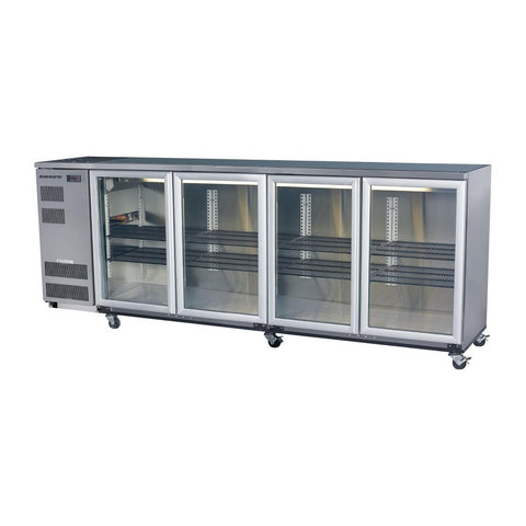 Skope Back Bar Cooler with Four Hinged Doors BB780X