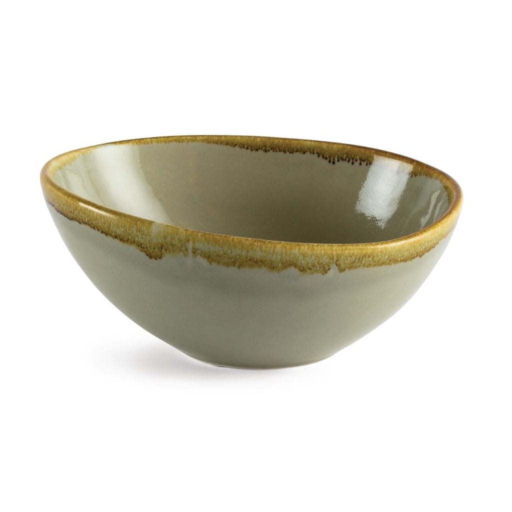 Olympia Kiln Bowl Moss 215mm (Pack of 4)