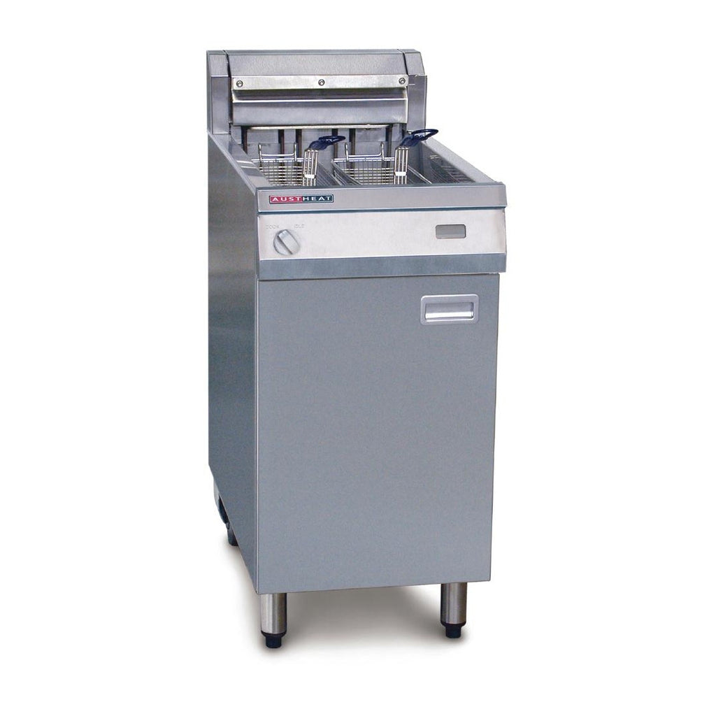 Austheat Freestanding Electric Deep Fryer with Rapid Recovery AF812R