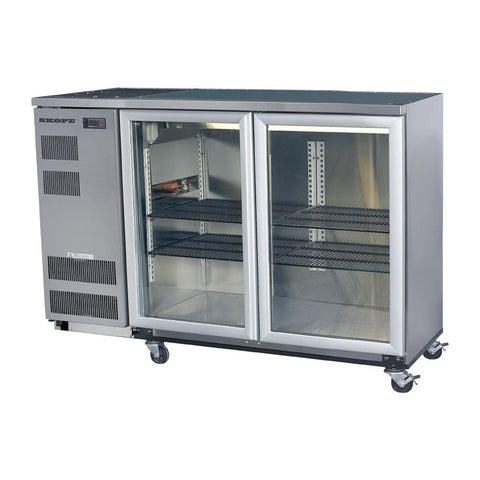 Skope Back Bar Cooler with Hinged Doors BB380X