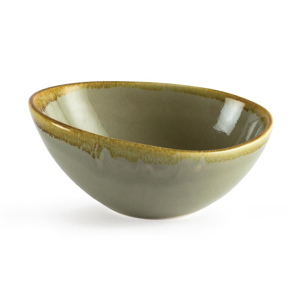 Olympia Kiln Bowl Moss 165mm (Pack of 6)