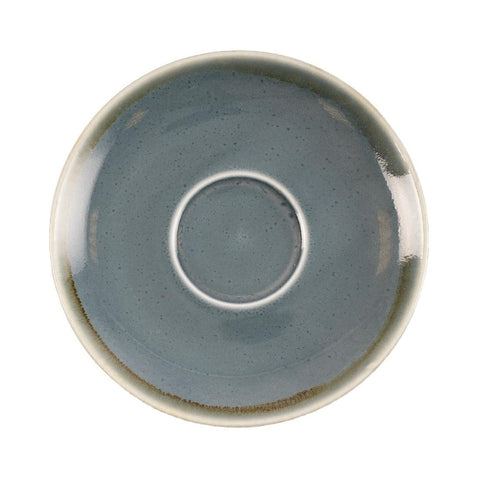 Olympia Kiln Cappuccino Saucer Ocean 140mm (Pack of 6)