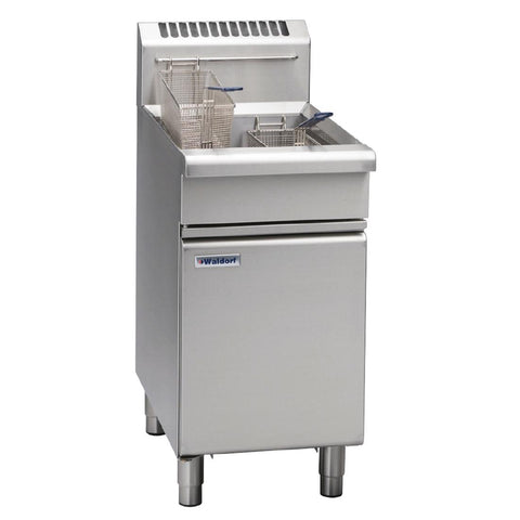Waldorf by Moffat Freestanding Natural Gas Single Pan 20Ltr Deep Fryer FN8120G