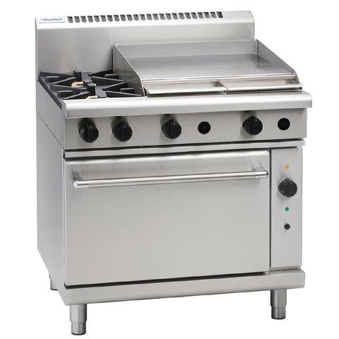 Waldorf by Moffat 2 Burner Propane Gas Range Oven and Griddle Plate RN8616GC