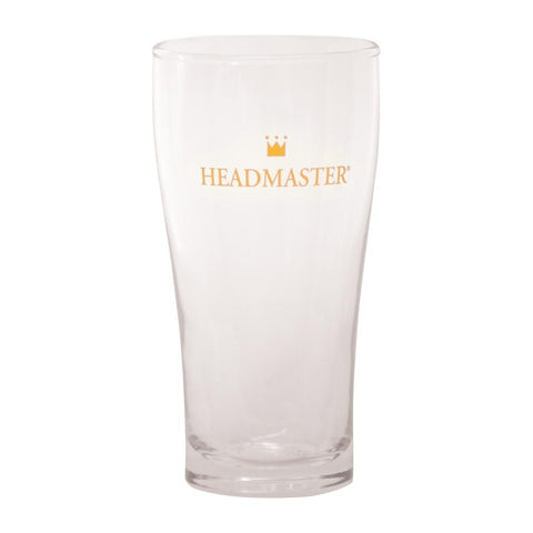 Crown Headmaster Conical Beer Glass 285ml (Pack of 48)