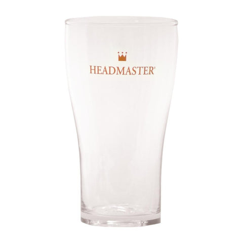 Crown Headmaster Conical Beer Glass 425ml (Pack of 48)