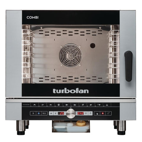 Turbofan Full Size 5 Tray Digital Electric Combi Oven EC40D5