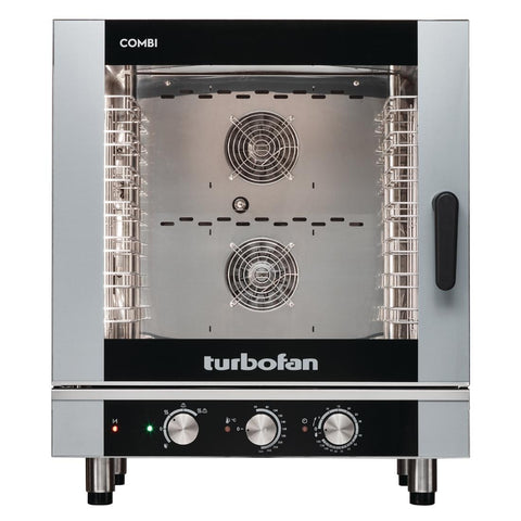 Turbofan Full Size 7 Tray Manual/Electric Combi Oven EC40M7
