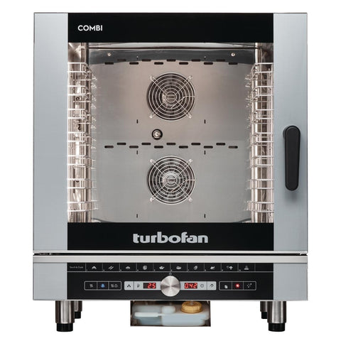 Turbofan Full Size 7 Tray Digital Electric Combi Oven EC40D7