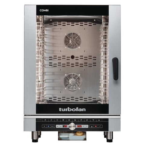 Turbofan Full Size 10 Tray Digital Electric Combi Oven EC40D10