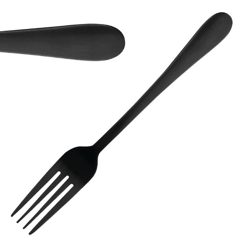 Olympia Etna Black Table Fork (Pack of 12)