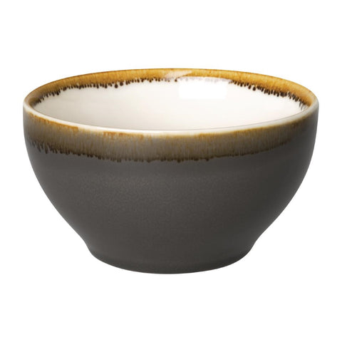 Olympia Kiln Round Bowl Smoke 140mm (Pack of 6)