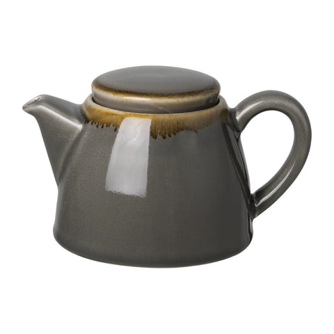 Olympia Kiln Teapot 510ml Smoke (Pack of 4)