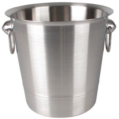 Olympia Brushed Stainless Steel Wine And Champagne Bucket