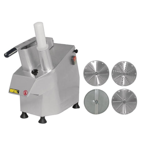 Apuro Multi Function Continuous Veg Prep Machine with 4 Discs