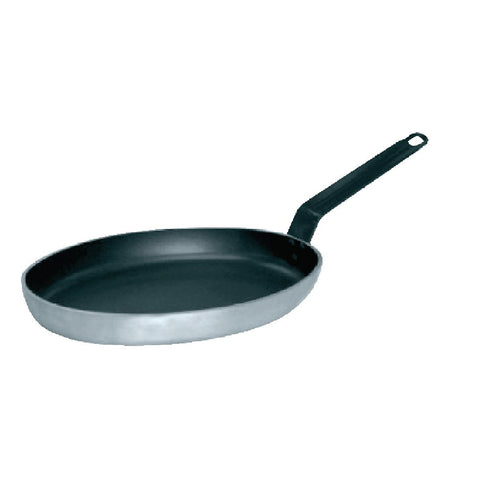 Vogue Non Stick Teflon Aluminium Oval Frying Pan 360mm