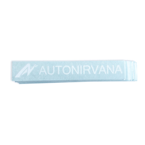 AutoNirvana Small Banner Car Decal front image