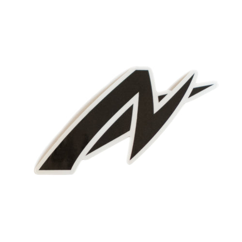 AutoNirvana Kisscut Logo Car Decal