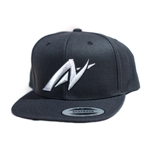 Front shot of the Classic AutoNirvana Snapback in grey