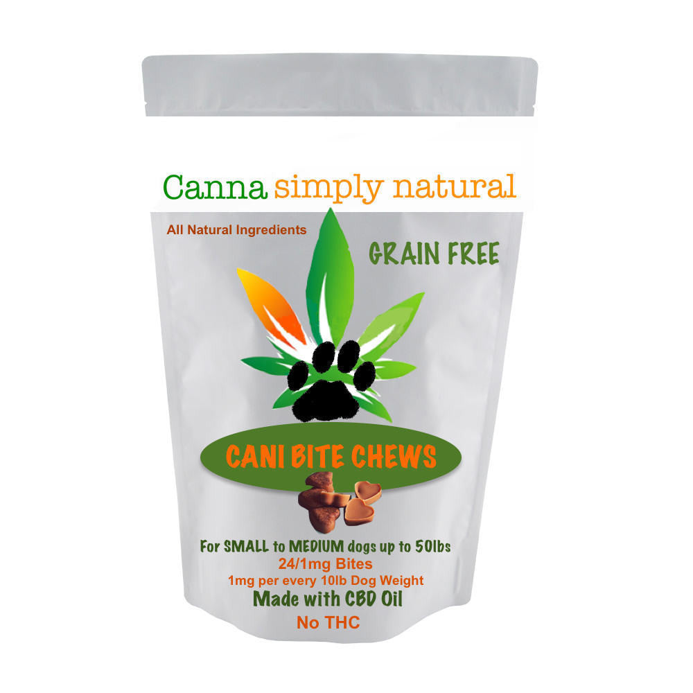 COMING SOON! Cani-Bite Chews Treatables Small to Medium Dogs