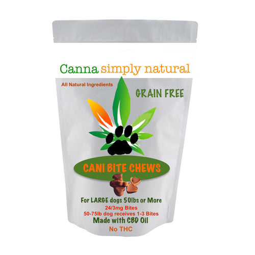 COMING SOON! Cani-Bite Chews Treatables for Large Dogs