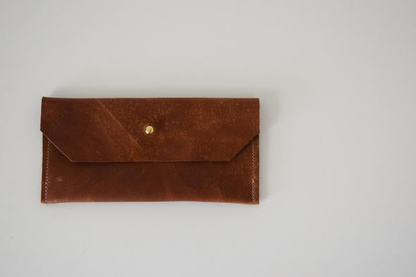 LEATHER PHONE / LARGE WALLET