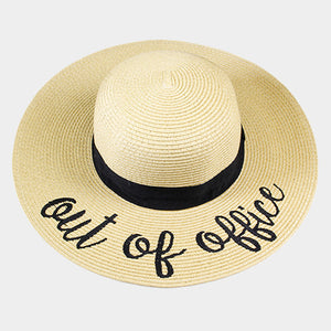 OUT OF THE OFFICE FLOPPY HAT