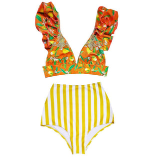 THE LEMONADE HIGH WAIST BIKINI