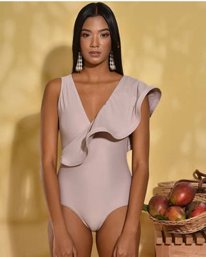 Micah One piece in Cacao